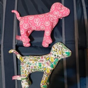 Vintage Victoria Secrets: Pink Collectable Dogs